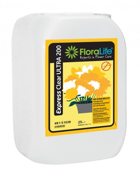 Floralife ® Express Clear ULTRA 200 5 L